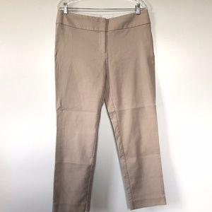 Loft Size 8 Pant Julie Straight Leg Stretch Casual